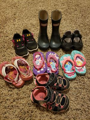Girls shoe lot size 5/6 for Sale in Gresham, OR