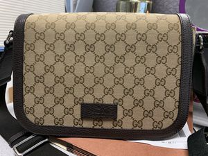 fca739ddc3ca Gucci Brown GG Canvas   Letter Messenger bag for Sale in Huntington Park