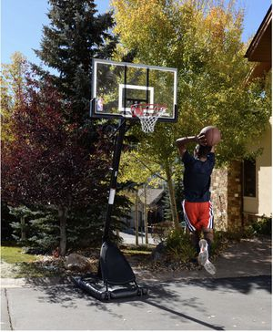 Spalding 54 Inch Portable Basketball Hoop for Sale in Philadelphia, PA