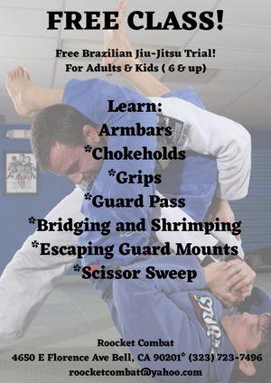 Brazilian Jiu-Jitsu trial! for Sale in Bell Gardens, CA