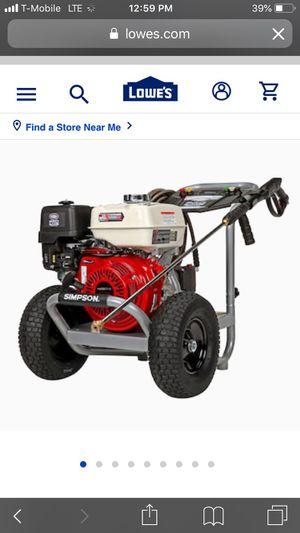 Simpson Honda pressure washer 3400 psi 2.3gpm for Sale in Brockton, MA