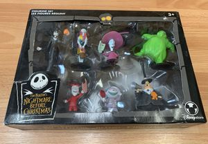 NEW Tim Burton's The Nightmare Before Christmas Figurine Set for Sale in Maple Valley, WA