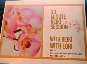 Reiki gift certificates for Sale in Oklahoma City, OK
