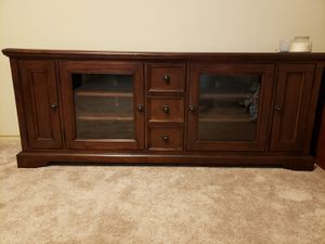 Rich Wood Entertainment Center for Sale in Fort Worth, TX