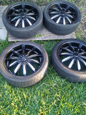 "22"" Rims and Tires for Sale in Orlando, FL"