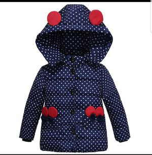 4t adorable warm purple with polka dots jacket for Sale in Hesperia, CA
