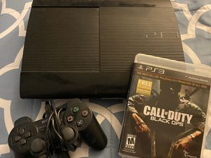 PS3 w/ Call of Duty game for Sale in San Bernardino, CA