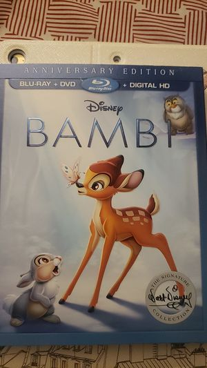 Blu ray Bambi No digital code for Sale in Los Angeles, CA
