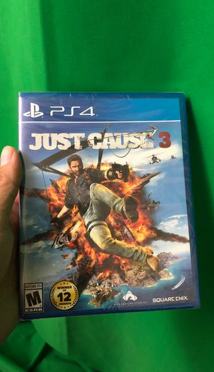 Just Cause 3 (PS4, Brand New) for Sale in Vail, AZ
