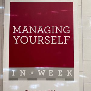 Managing Yourself In A Week for Sale in Los Angeles, CA