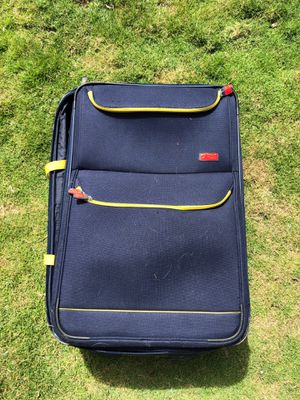Large Blue Chaps Luggage Bag for Sale in Waipahu, HI