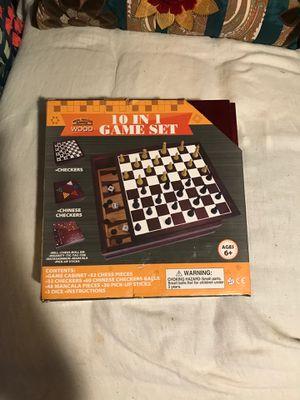 NEW IN BOX 10 in 1 board games for Sale in Douglasville, GA