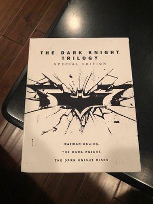 The Dark Knight Trilogy DVD art for Sale in Covina, CA