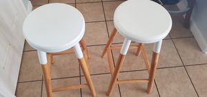 Four would bar stools for Sale in Sanger, CA