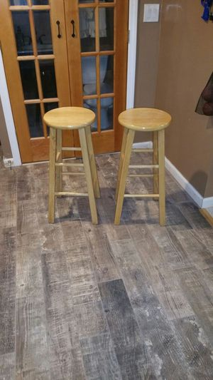 Two bar height 29inch tall stool for Sale in Saint James, NY