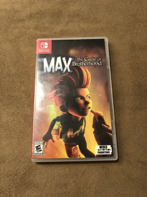 Nintendo Switch Game- Max The Curse of Brotherhood for Sale in Corona, CA