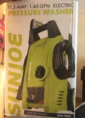 Sunjoe 1450 psi pressure washer for Sale in Atlanta, GA