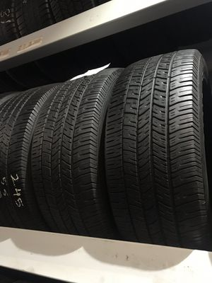(4) Goodyear 245/55r18 for Sale in Los Angeles, CA
