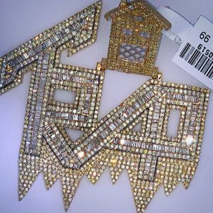 Real gold real diamond custom charm for Sale in Calumet City, IL