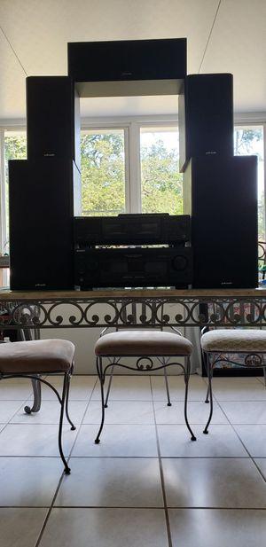 Polk Audio Speakers and Sony Receiver for Sale in Brandon, FL