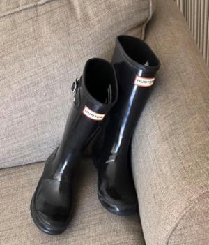 Kids Hunter rain boots size 4 for Sale in Brea, CA