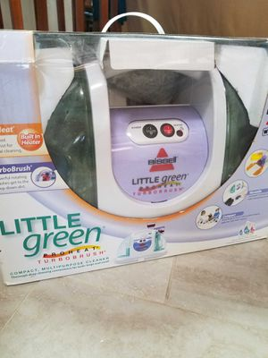 Bissell Little Green Proheat Vacuum for Sale in Sunnyvale, CA