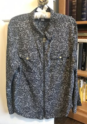 Michael Kors Zip-Front Shirt for Sale in Bloomfield Hills, MI