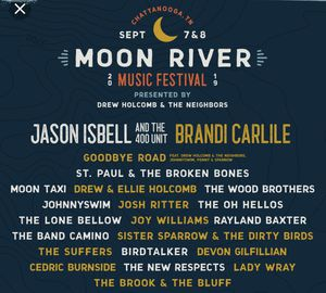 2 Moon River festival tickets Chattanooga for Sale in Nashville, TN