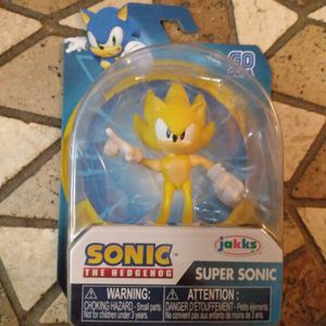 Brand New Sonic Super Sonic Figure Unopened for Sale in Edgewood, FL