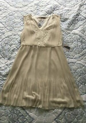 Forever 21 Creme Sleeveless Sundress Large for Sale in Alexandria, VA