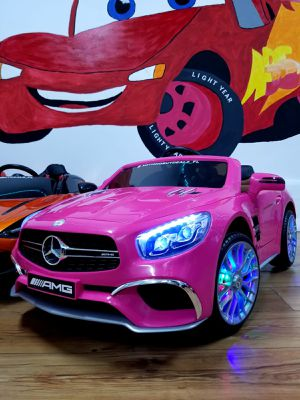 Pink Mercedes SL65 Remote Control Touchscreen Video Display LED Lights for Sale in Fort Lauderdale, FL