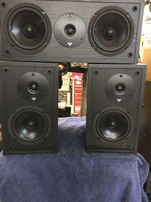 Three-piece Cerwin- Vega Speaker set for Sale in Port St. Lucie, FL