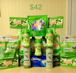Gain, Suave, Irish spring, & Herbal Essence Bundle $42 for Sale in Centreville, VA