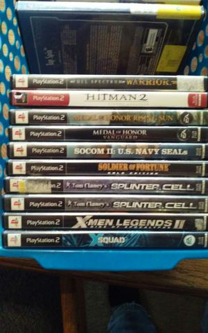 PS2 Soldier Army Games - $5 Each for Sale in Aumsville, OR
