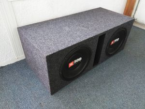 "JBL 500 Watt 10"" Subwoofers and Box Combo for Sale in Columbus, OH"