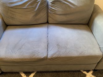 Blue/Grey Loveseat - Great Condition! for Sale in Brooklyn,  NY