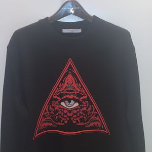 "Black Givenchy ""All Seeing Eye"" XL Sweatshirt for Sale in Silver Spring, MD"