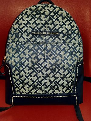 Tommy Hilfiger logo backpack Blk NWT for Sale in Humble, TX
