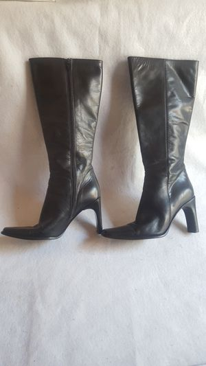 Mayis Shoes All Leather Calf Boot Color: Black size 4.5 for Sale in Los Angeles, CA