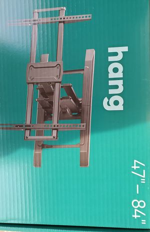 Tv wall mount 40 to 84 inch full motion ... new in box and sealed for Sale in Plano, TX