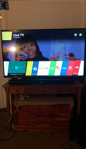 LG 4K ULTRA HD 60inch TV for Sale in Midway City, CA