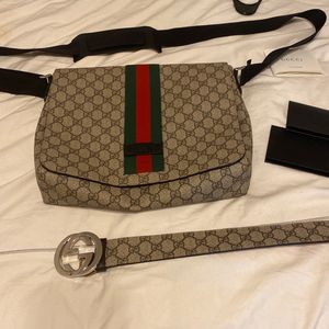 GUCCI BELT & BAG for Sale in Oakland, CA