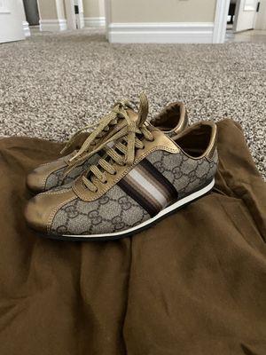 Gucci sneakers size 5 for Sale in Corona, CA