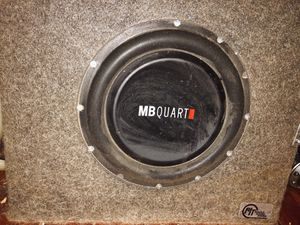 "10"" MB Quart Subwoofer w/ 300W Monoblock Kicker Amp for Sale in Columbus, OH"