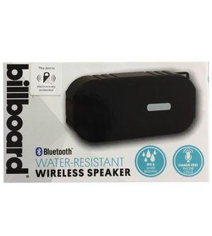 Billboard Wireless Speaker IPX5, water resistant, Bluetooth, Red. for Sale in Miami, FL