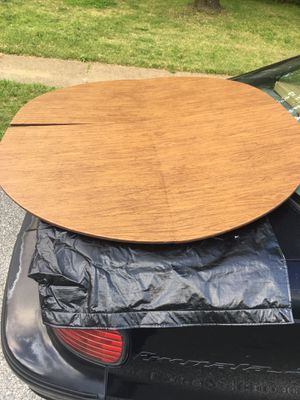 Fold up table cover with case only 15 FIRM for Sale in Glen Burnie, MD