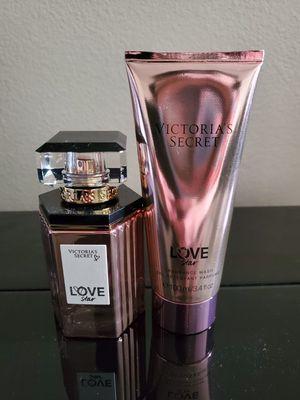 Victoria Secret Love Star perfume & bath gel for Sale in Colton, CA