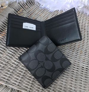 🌻Authentic Coach Men's Wallet Double Billfold NWT. for Sale in Alhambra, CA