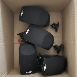 4 Polk Audio Surround Sound Speakers for Sale in Phoenix, AZ