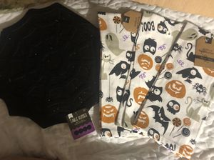 New Halloween table runner and kitchen towels for Sale in Severn, MD
